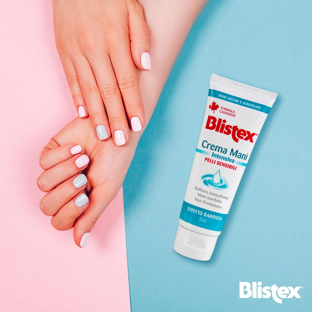 Crema mani Intensiva Pelli sensibili